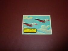 PLANES trading card #3 TOPPS 1957 Army Navy Marines Air Force PRINTED IN U.S.A