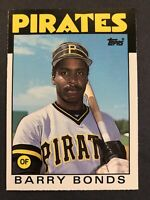 👀👉🔥1986 Topps Traded #11T Barry Bonds⭐️rookie⭐️free Ship💵🔥⚾️🔥📈