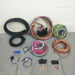 1900-1927 Early Cars 12 Fuse 103 Terminal Wiring Harness Fuse Panel Kit ford rat