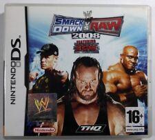 SMACK DOWN VS RAW 2008 FEATURING ECW pour Nintendo DS