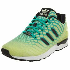 check out 03bb3 17a8a adidas ZX Flux XENO Mens AQ8212 Frozen Yellow MINT Black Running Shoes Size  7.5