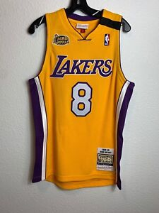 Mens Mitchell &Ness NBA Los Angeles Lakers Kobe Bryant Finals 8 Vintage (M)