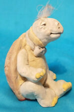 Rare Large Cast Art Figurine Stamped Kristin-Turtle Collection Very Good Cond