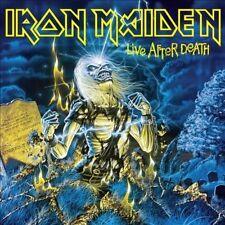 Iron Maiden Import 33 RPM Speed Vinyl Records