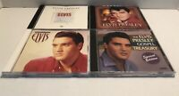 Lot 4 Elvis Presley CDs
