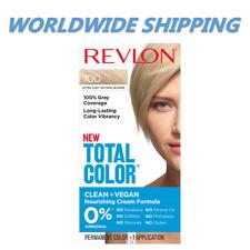 Revlon Total Color Hair Dye 100 Extra Light Natural Blonde WORLDWIDE SHIPPING