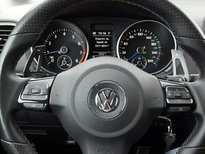 VW DSG Metal Paddle Shift Extensions MK5 MK6 GTI Golf R Golf R32 Aluminium Black