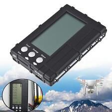 3 in 1 LCD Discharger Balancer Meter Tester for 2-6S lipo Li-Fe battery black UP