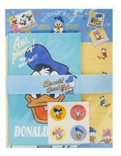 Disney Donald Duck Bell Letter Envelopes Staionery Paper Set Cute Design