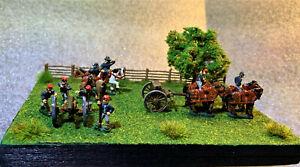American Civil War Diorama 15mm Confederate Figures ( Peter Pig ) Hand Painted