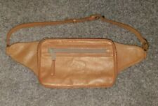 Vintage CHACO NATURAL LEATHER waist/fanny travel bag
