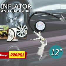 Digital Tire 220 PSI Inflator with Pressure Gauge Air Chuck for Truck Car Bike