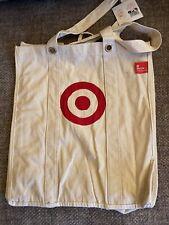 1-Target Reusable Canvas Shopping Bags Medium size (A Few Loose Threads)