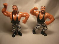 WWF Bushwackers (Butch / Luke) HASBRO 1991  figurine catch WWE