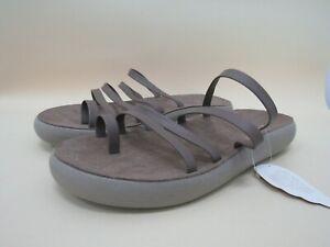 Ancient Greek Sandals Hypatia Comfort Women's Brown Leather Sandals Size 11