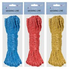 25 Metre Swish Durable Washing Line Nylon Garden Laundry Outdoor Holiday 25M