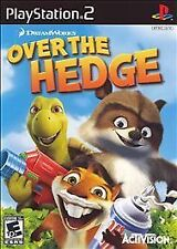PS2 Over the Hedge Sony PlayStation Two Video Game Disc Case Manual