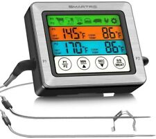 New listing Smartro St54 Dual Probe Digital Meat Thermometer for Food Cooking Kitchen Oven