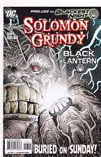 SOLOMON GRUNDY #7 / BLACKEST NIGHT / DC COMICS / 2009