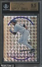 1996 Bowman's Best Cuts Atomic Refractor #3 Derek Jeter Yankees BGS 9.5 GEM MINT