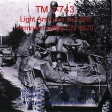 T028 TM 9-743, Light Armored Car M8 and Armored Utility