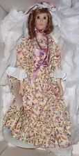 "NIB Suzanne Gibson Fashion Doll by Reeves International 'Miss Felicity' 21"""