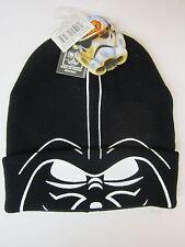 Star Wars Darth Vader Roll Down Mask Winter Beanie Hat BRAND NEW WITH TAGS