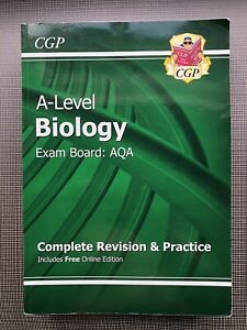 CGP AQA A-Level Biology Revision Guide