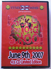Maximes Back To The Old Skool June 9th 2007 4 x CD pack includes Stu Allen set !