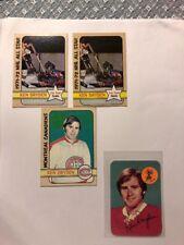 Lot Of 3 1972-73 Topps Hockey Ken Dryden Montreal Canadians HOF Price Drop!