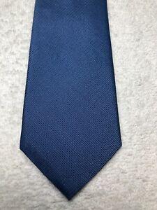 BANANA REPUBLIC MENS TIE SOLID BLUE 2.5 X 61