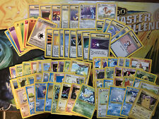 Near Complete Non-Holo 74 Cards 4th Print Uk Variant Base Set Mint-NM 1999-2000