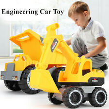 Large Engineering Construction Truck Excavator Digger Vehicle Car Kids Toy Gift