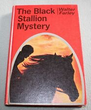 Vintage The Black Stallion Mystery HB DJ  Walter Farley