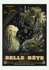 BEAUTY AND THE BEAST 1946 La Belle et la Bête, Jean Cocteau – Cinema Poster Art