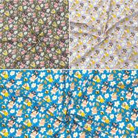Polycotton Fabric Fairies Fantasy Ladybirds Daisies Floral Bee