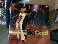 Be Cool press kit shaped like album, digital photos NOT THE MOVIE