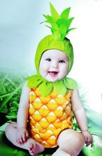 Baby Infant Girls PINEAPPLE Halloween Purim Fruit Food Costume Toddler 2T NEW
