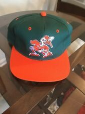 NWOT Miami Hurricanes Green Orange The Game Hat Cap 7 1/4 New Without Tags