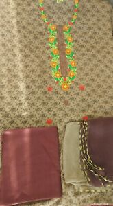 Kameez Salwar Suit Pakistani Indian Dress Casual Designer 3 Piece Suit LINEN