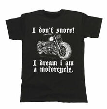 Graphic Tee Motorcycle T-Shirts for Men
