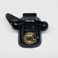 Vintage Mini Rotary Telephone Magnet Refrigerator With Light And Sound - Phone