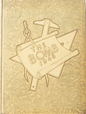 """Rare Iowa State College Yearbook """"the Bomb"""" from 1945 Nice Copy - End of WW II"""