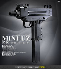 Academy MINI-UZ SMG SEMI AUTOMATIC ELECTRIC Gun Airsoft Gun #17403