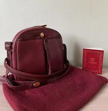 """Cartier """"Must De Cartier Paris"""" Cuero Bandolera/Bolso de Hombro./Vintage!! rara!!!"""