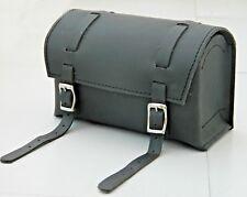 New Vintage leather Bicycle Saddle bag bike Tools kit handle bar black box type