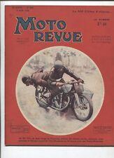 Moto Revue N°587  ;  9 juin 1934  : Ultima 500 cmc 6 vitesses 1 photo ,3 croquis
