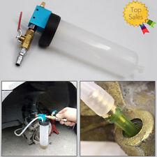Car & Truck Brake System Fluid Bleeder Kit Hydraulic Clutch Oil One Man Tool Top