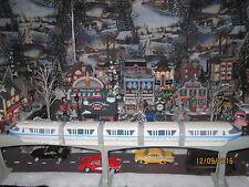 "TRAIN GARDEN VILLAGE HOUSE "" The MOTORIZED MONORAIL SYSTEM "" +DEPT 56/LEMAX info"