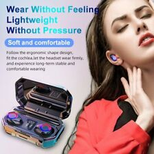 New listing Tws Wireless Earbuds Bluetooth 5.0 Headphone HiFi Stereo Headset In-Ear Earphone